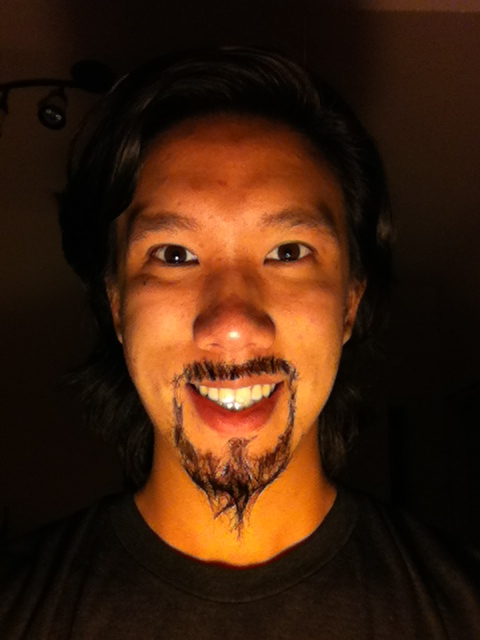 Day Twenty: circle beard